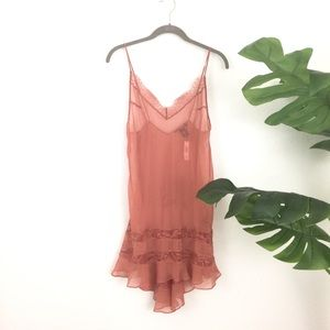 Victoria's Secret Sheer Lace Nighty Chemise